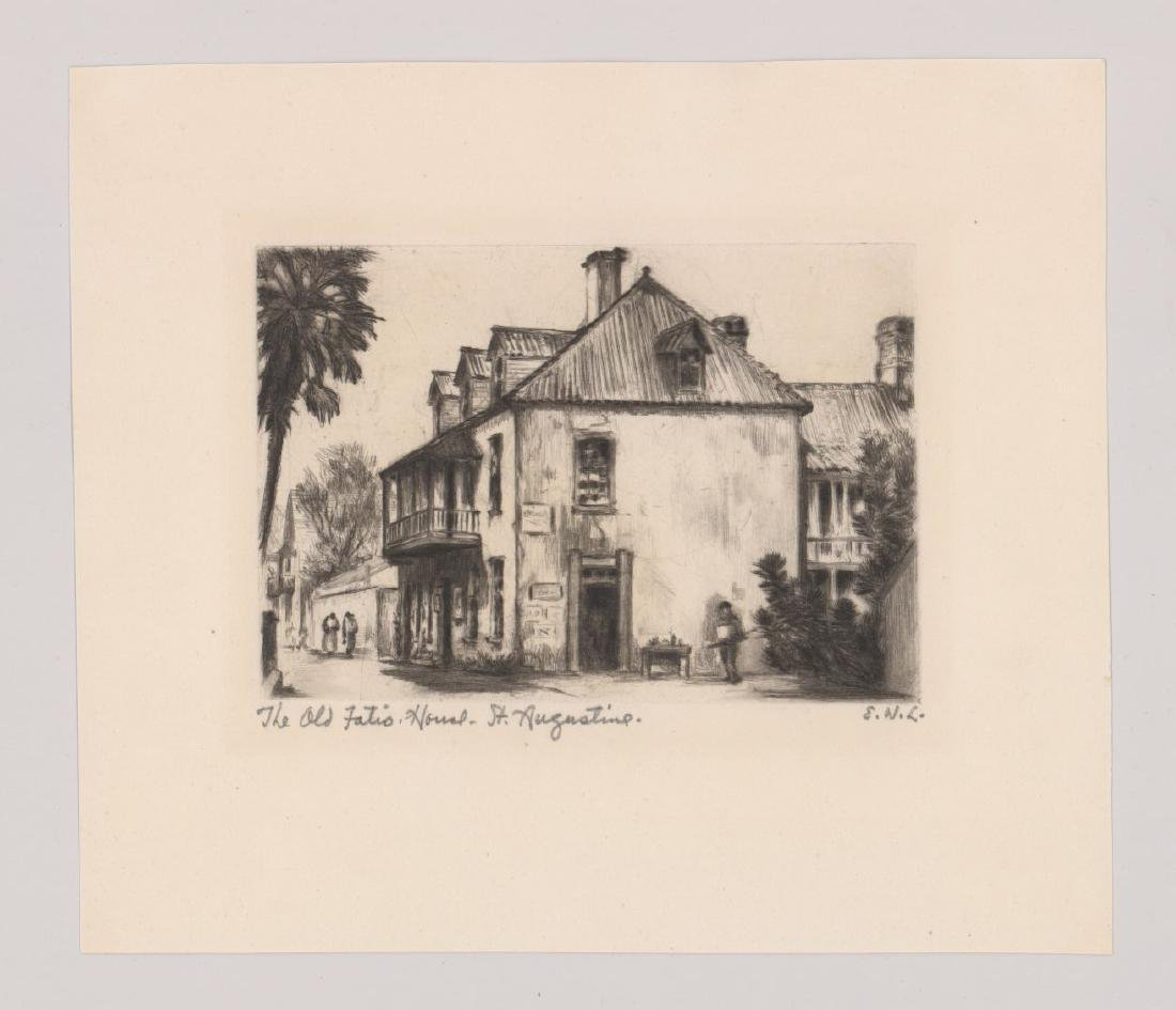 Elizabeth Boardman Warren Lindenmuth Etching - 2