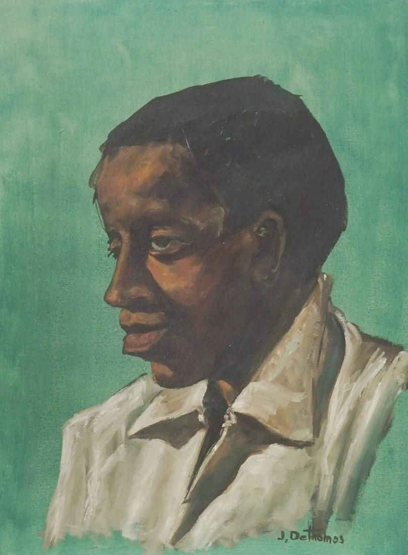 Joe Dethomas Oil Painting