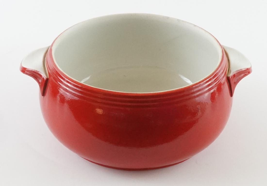Seven Pieces of Hall Kitchenware in Red - 2