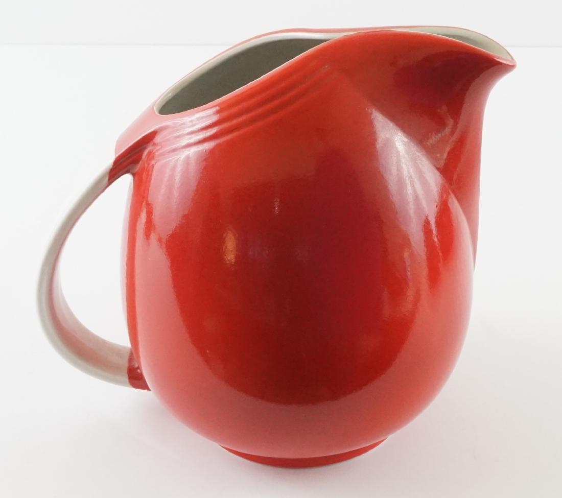 Seven Pieces of Hall Kitchenware in Red - 6
