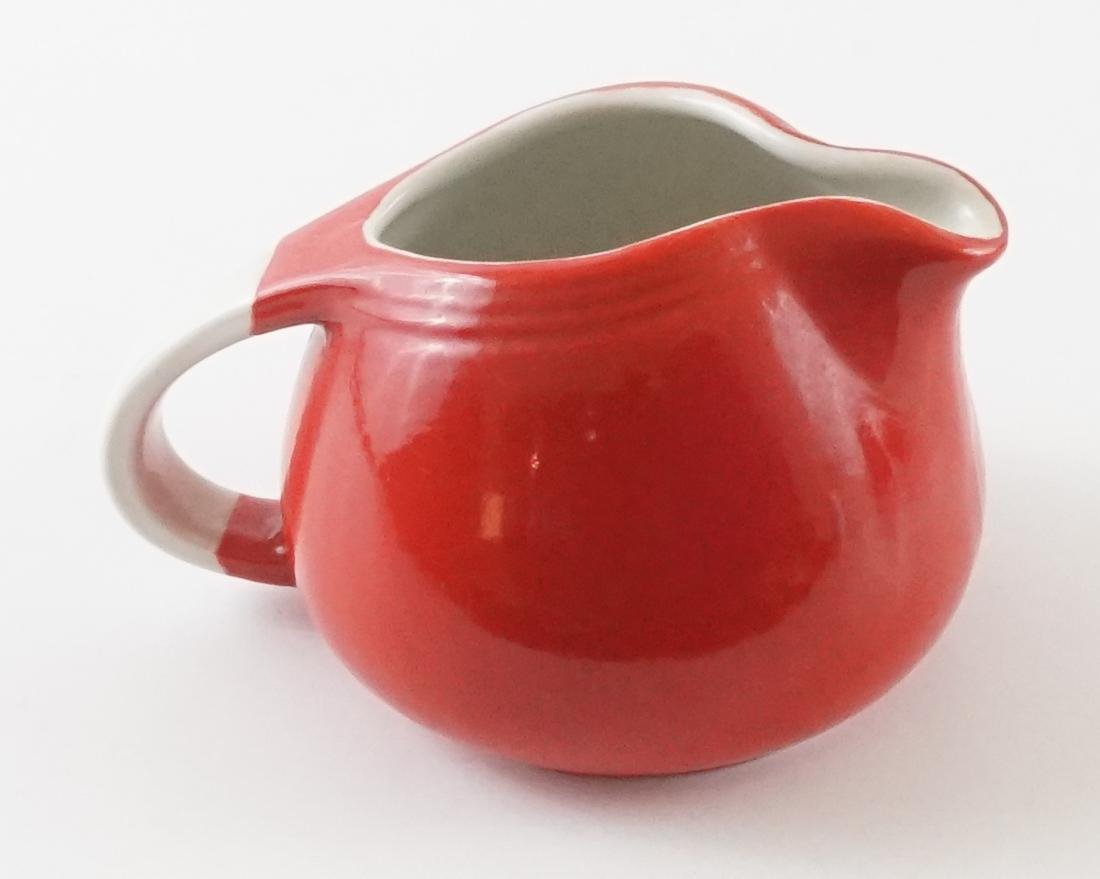 Seven Pieces of Hall Kitchenware in Red - 7