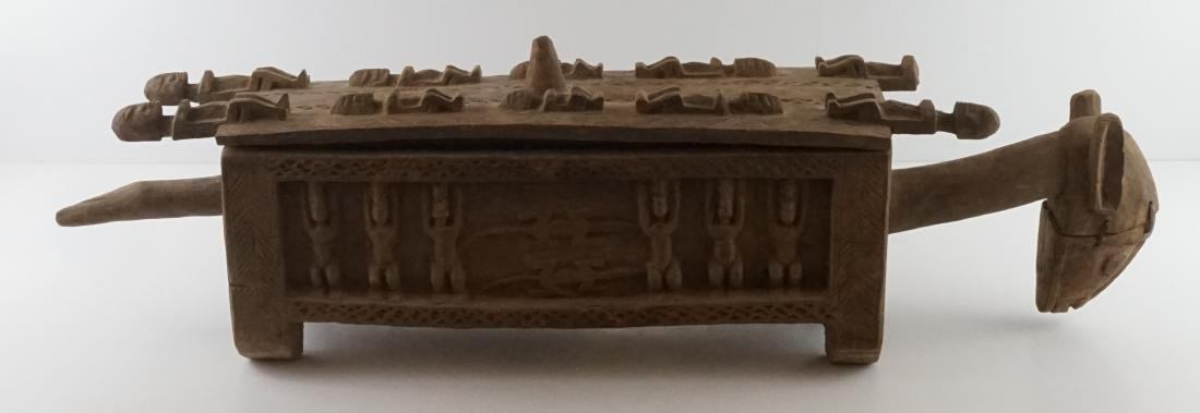 African Carved Box