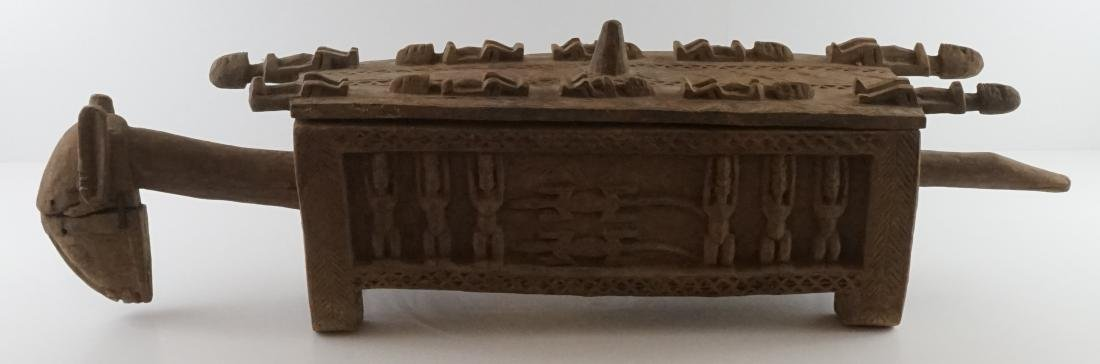 African Carved Box - 6