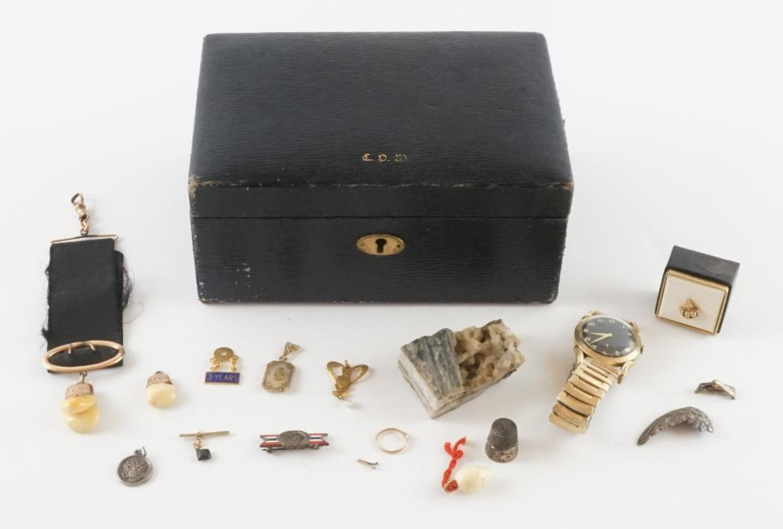 Men's Estate Jewelry with Watch and Fraternal