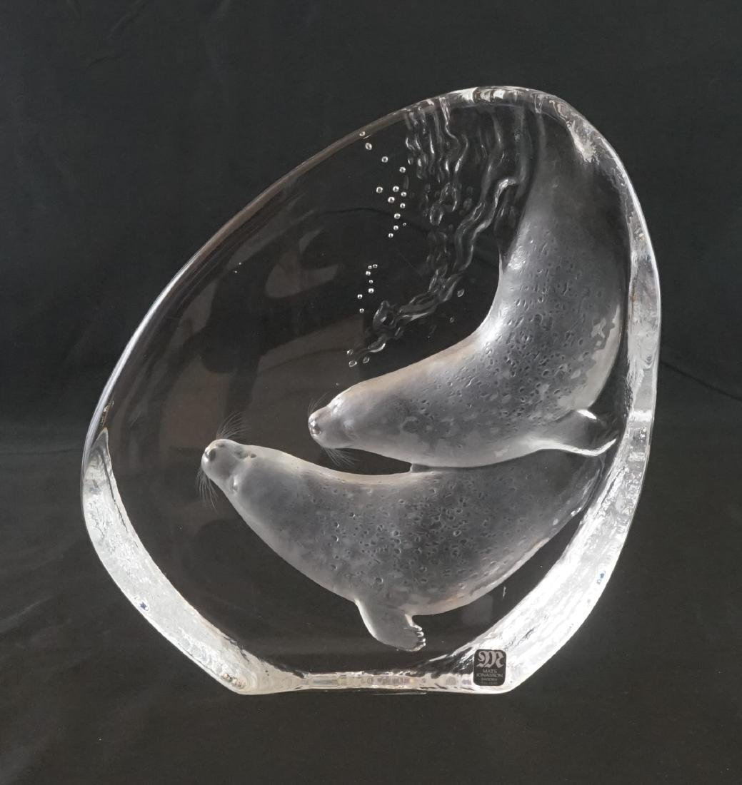 Mats Jonasson Crystal Sculpture
