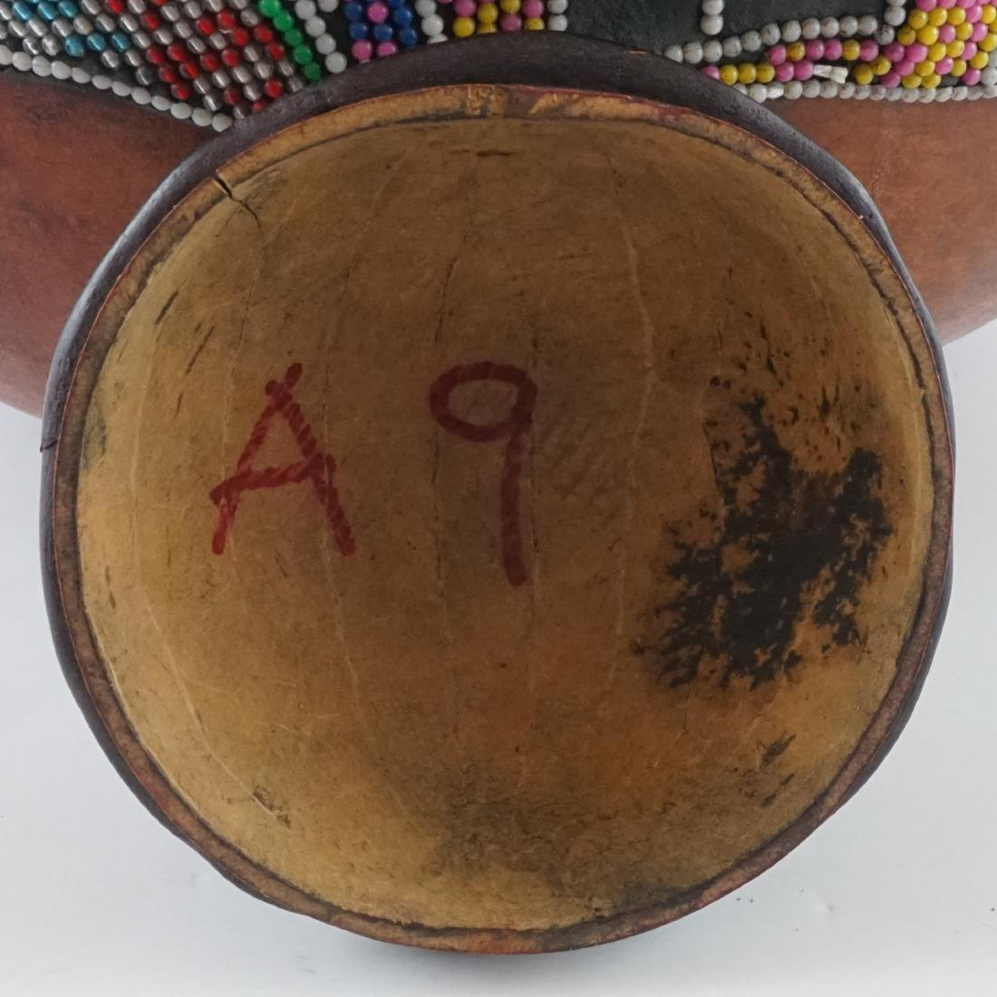 African Beaded Gourd - 8