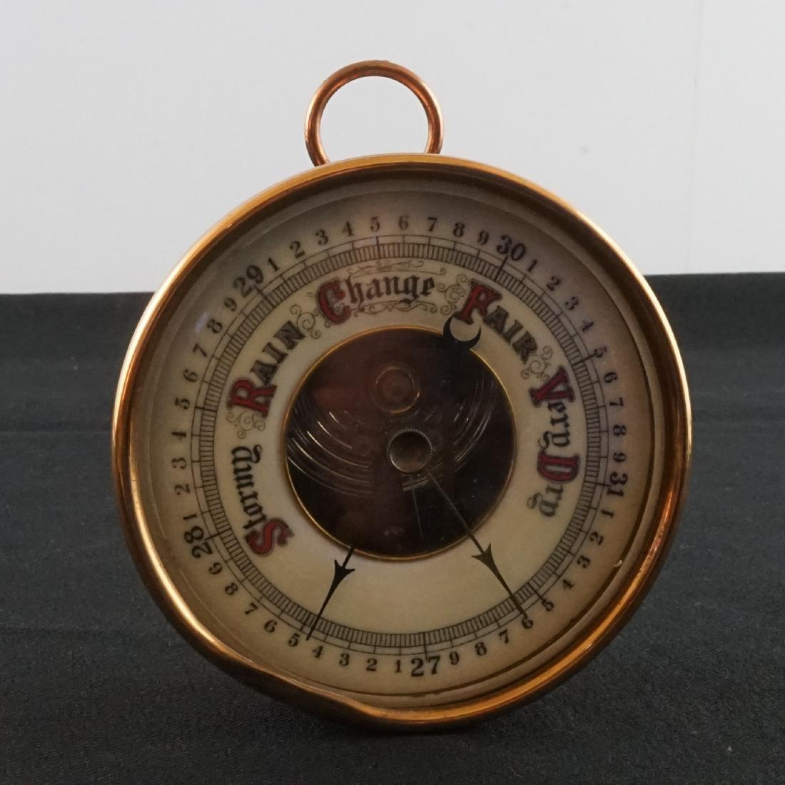 Barometer, MOP Opera Glasses and Steuben - 2