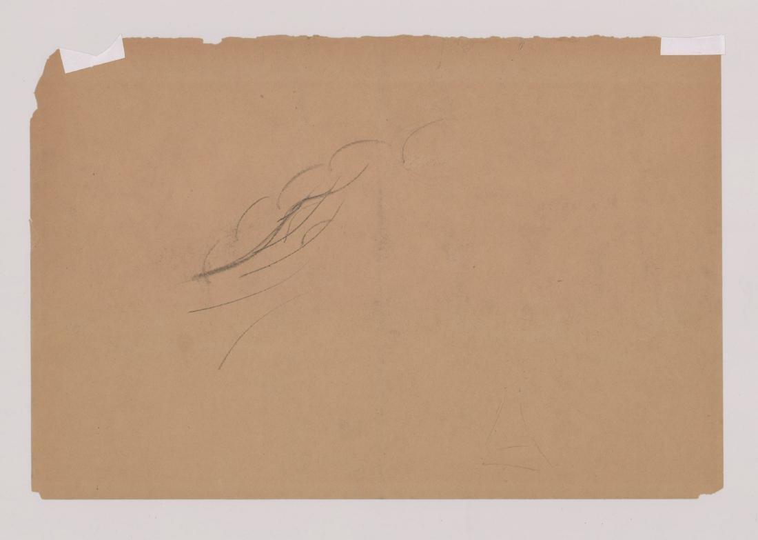 Raphael Soyer Original Drawing - 4