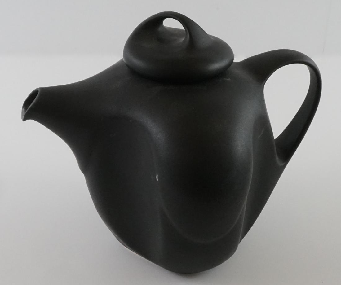 Peter Saenger Nine Piece Pottery Tea Set - 8