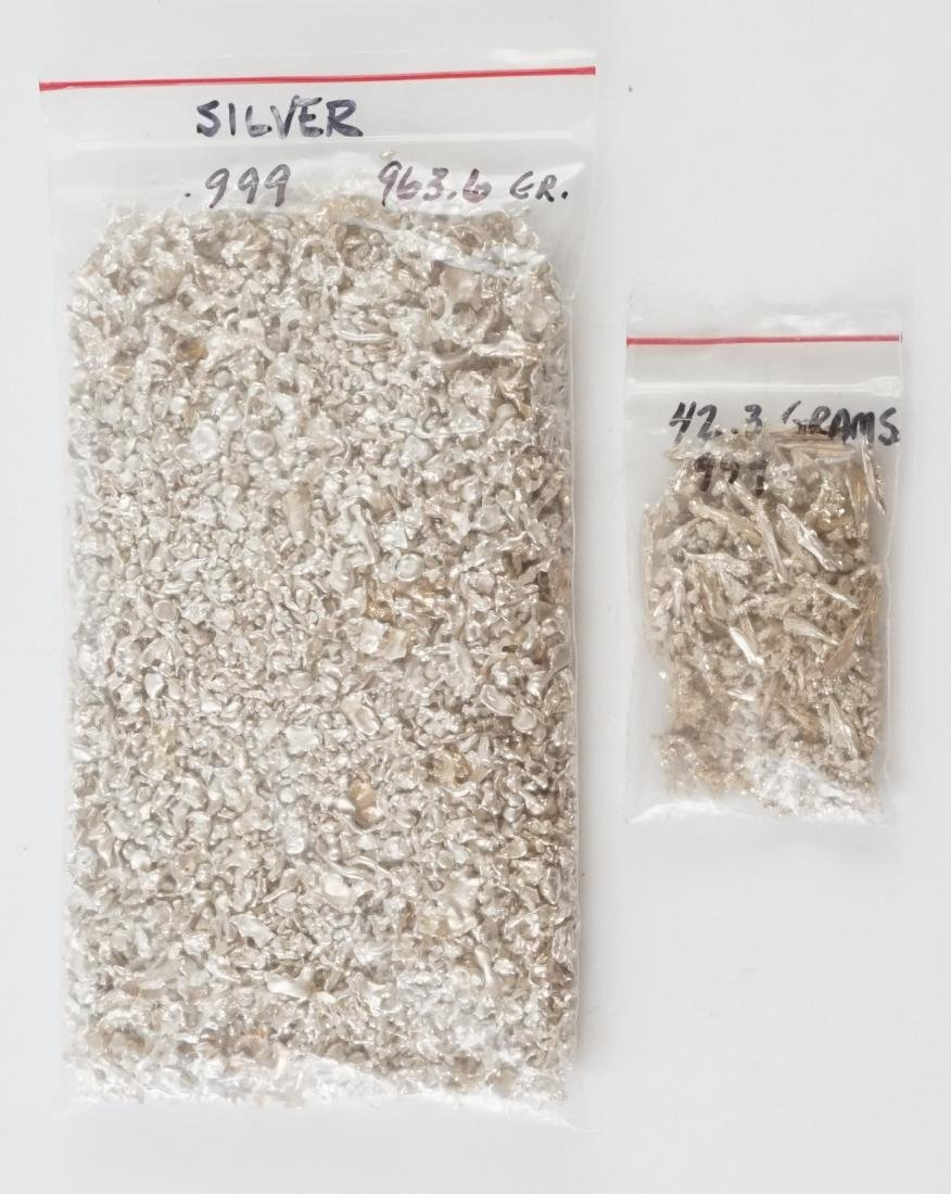 1,000 Grams of .999 Pure Silver Shavings - 2
