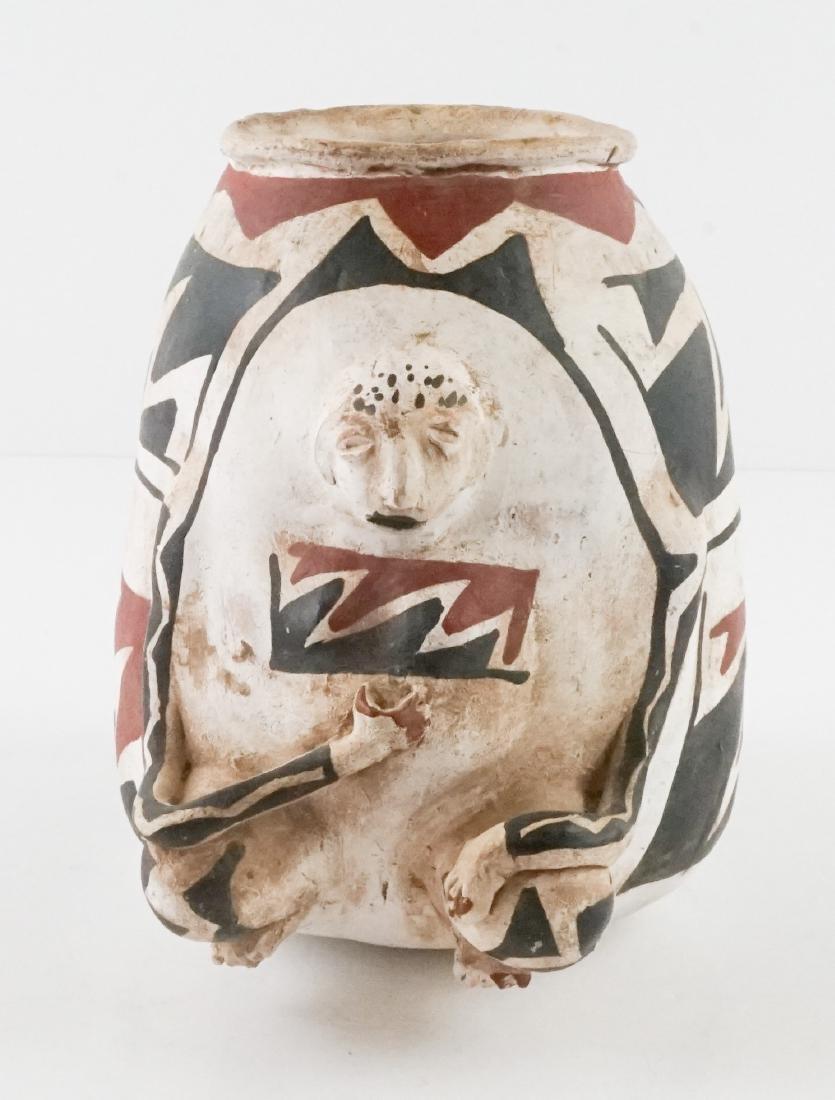 Casa Grande Effigy Figural Pot - 2