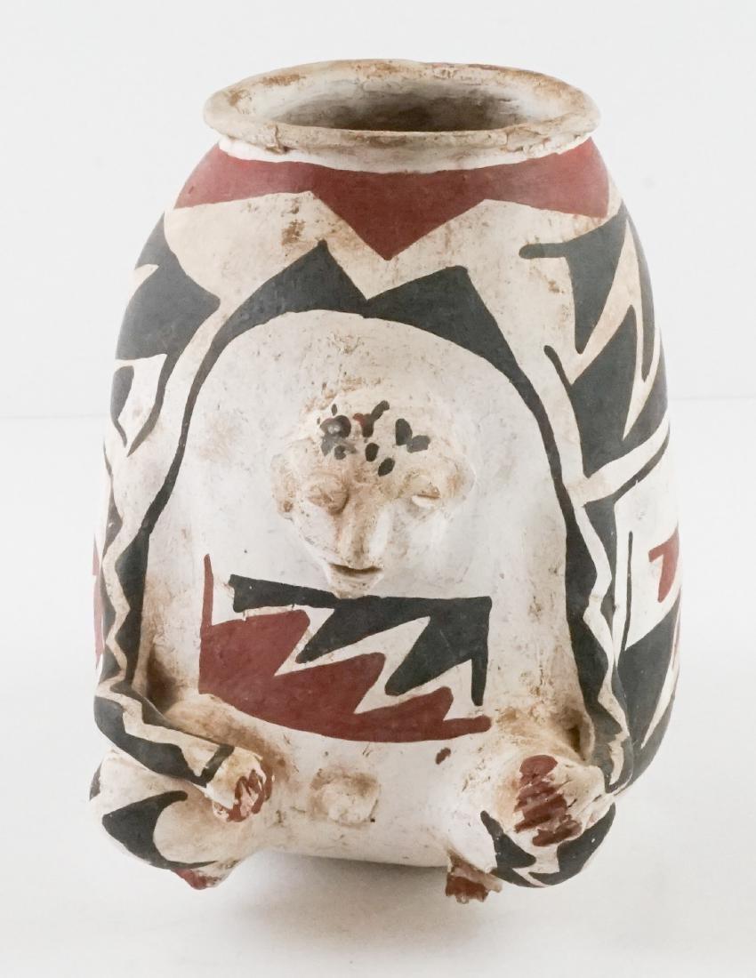 Casa Grande Effigy Figural Pot - 4