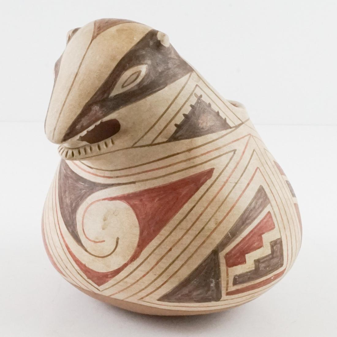 A Figural Pottery Vessel