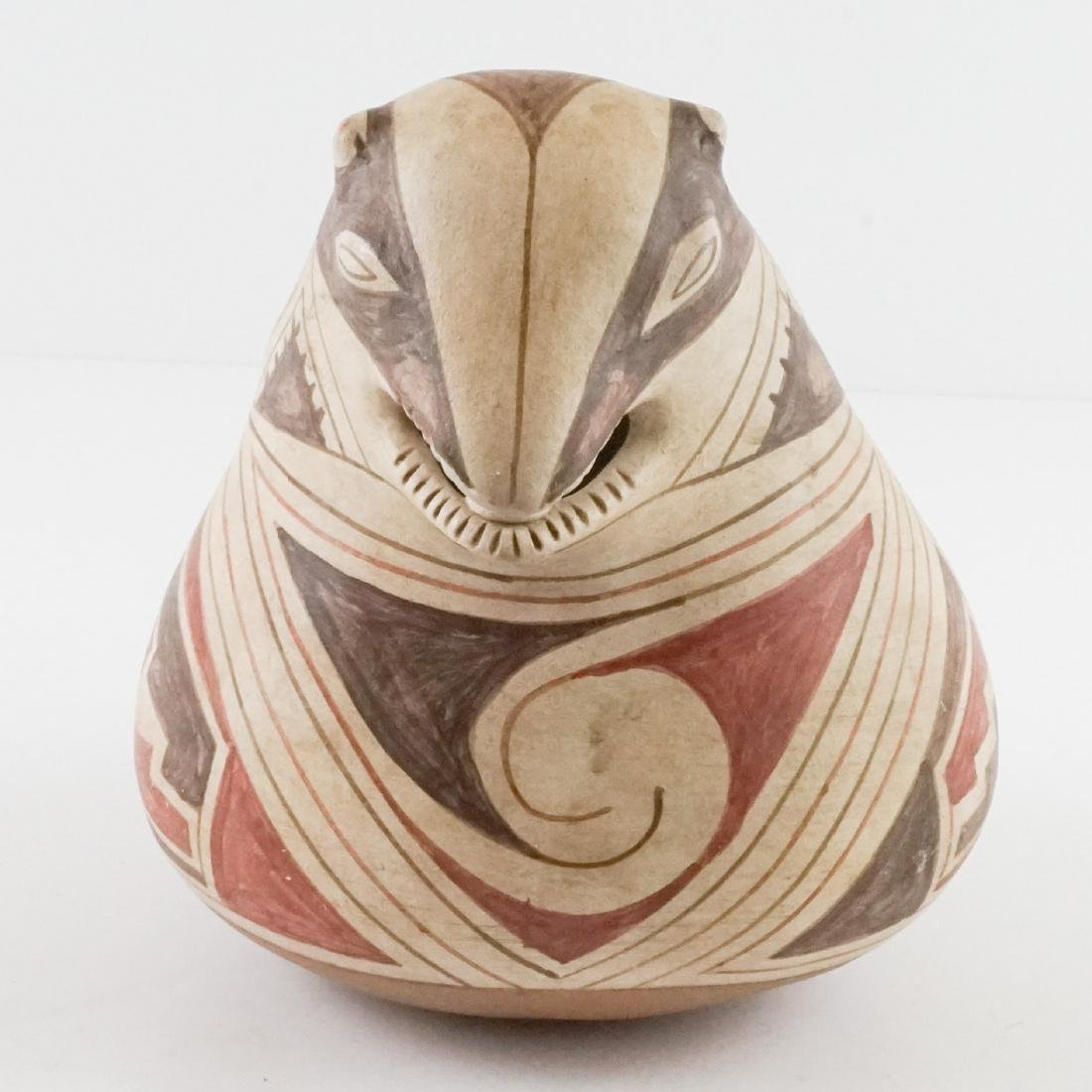 A Figural Pottery Vessel - 2