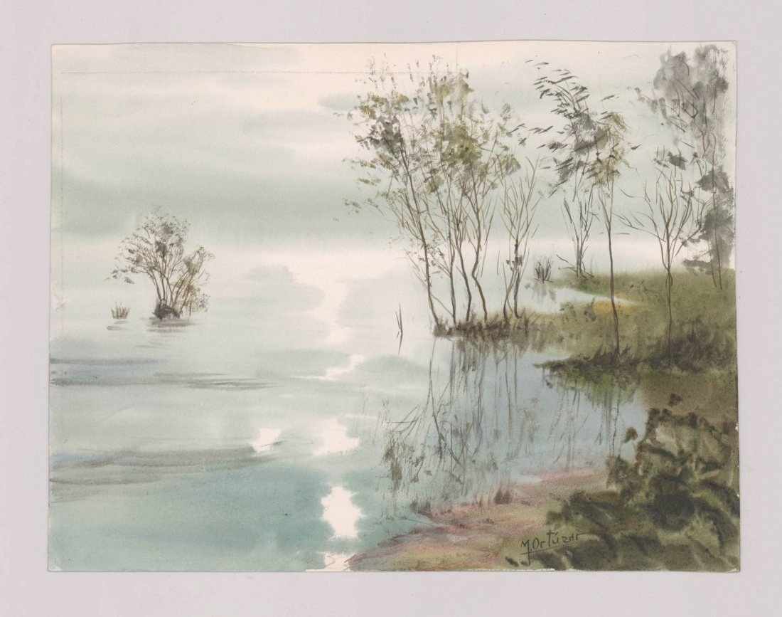 Mariano Ortuzar Watercolors - 2