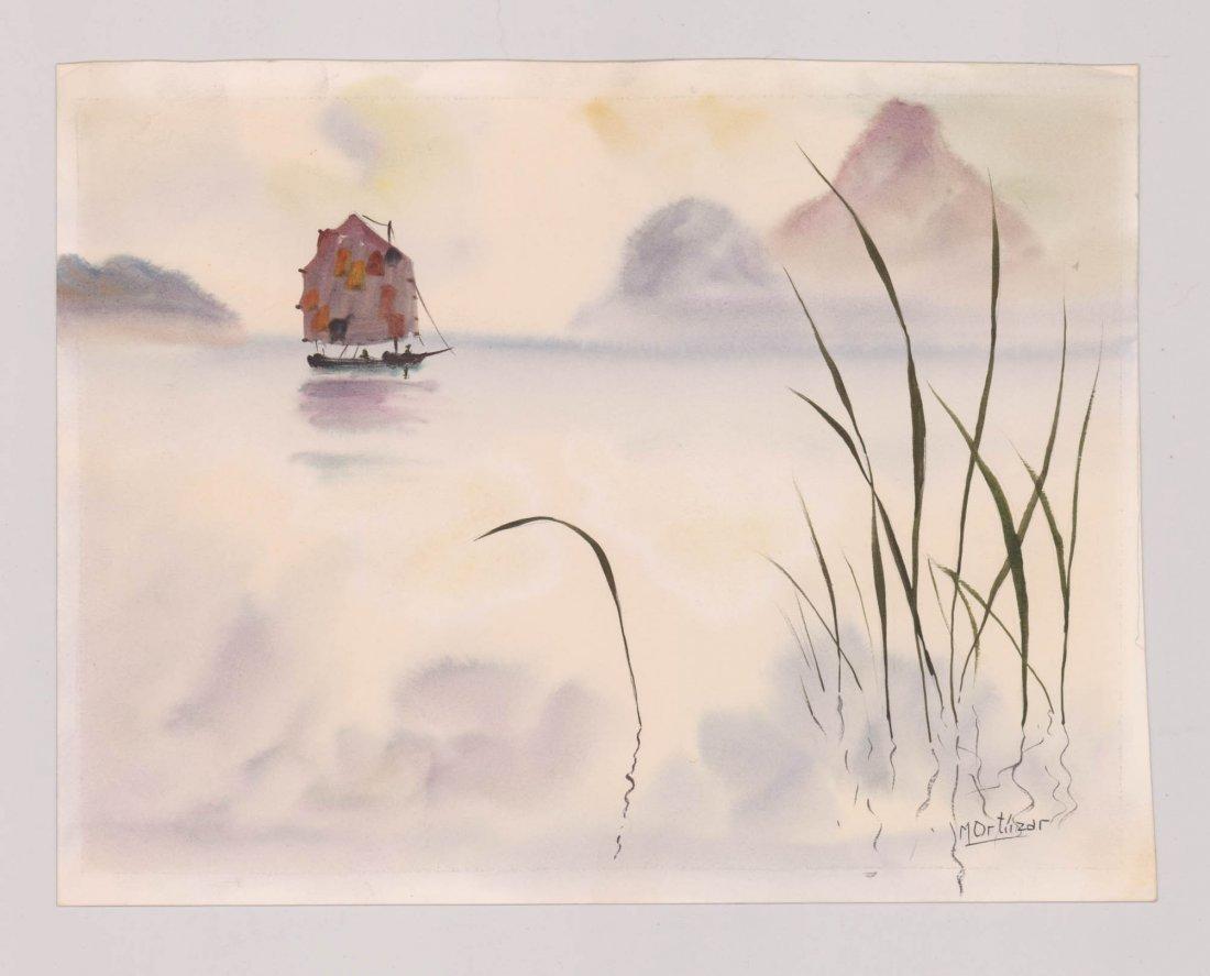 Mariano Ortuzar Watercolors - 4