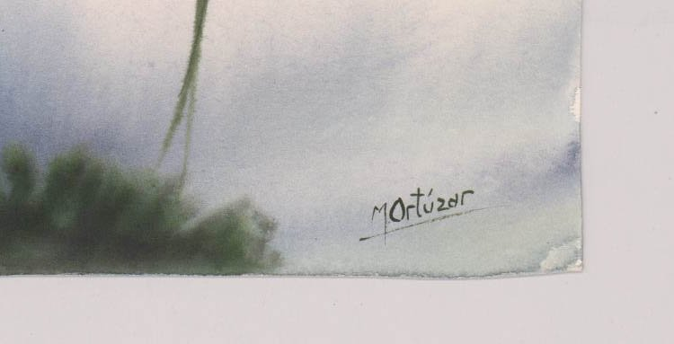 Mariano Ortuzar Watercolors - 7