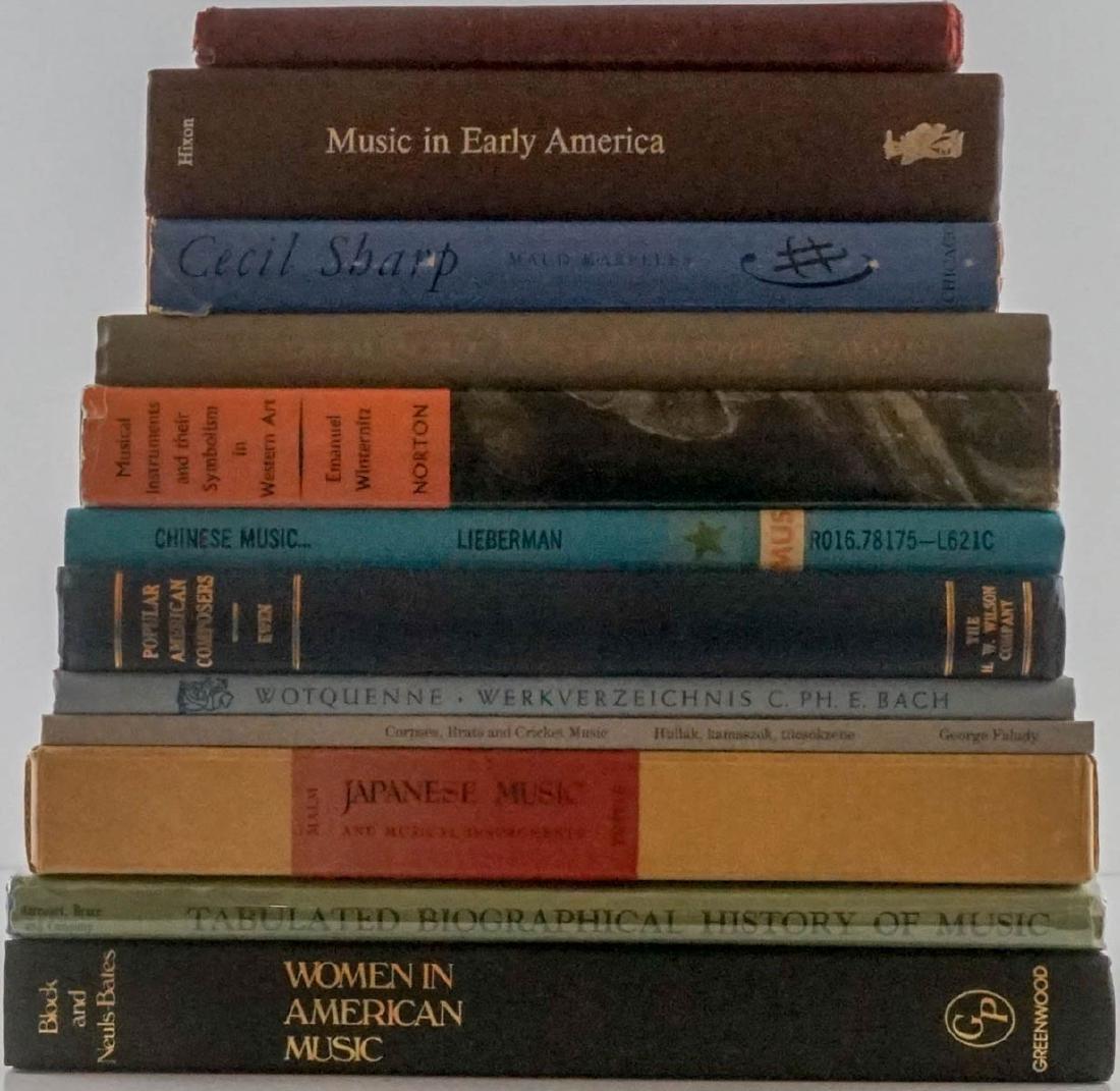 Group of Twelve Music Books
