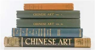 Group of Six Chinese Art Books
