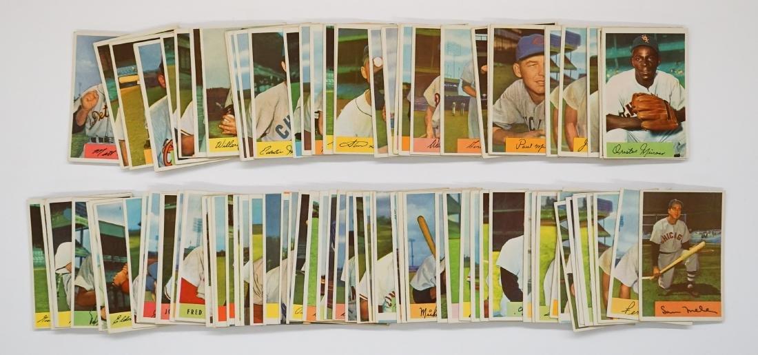 Group of (99) 1954 Bowman Baseball Cards