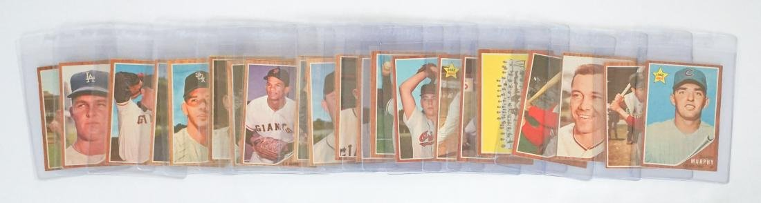 [310] 1962 Topps Baseball Cards VG-EX/EX or Better - 2