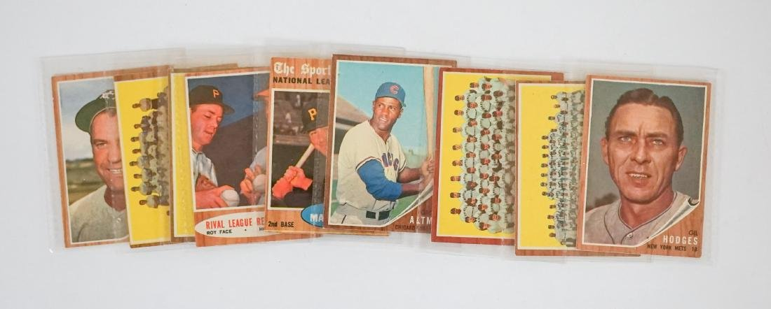 [310] 1962 Topps Baseball Cards VG-EX/EX or Better - 6