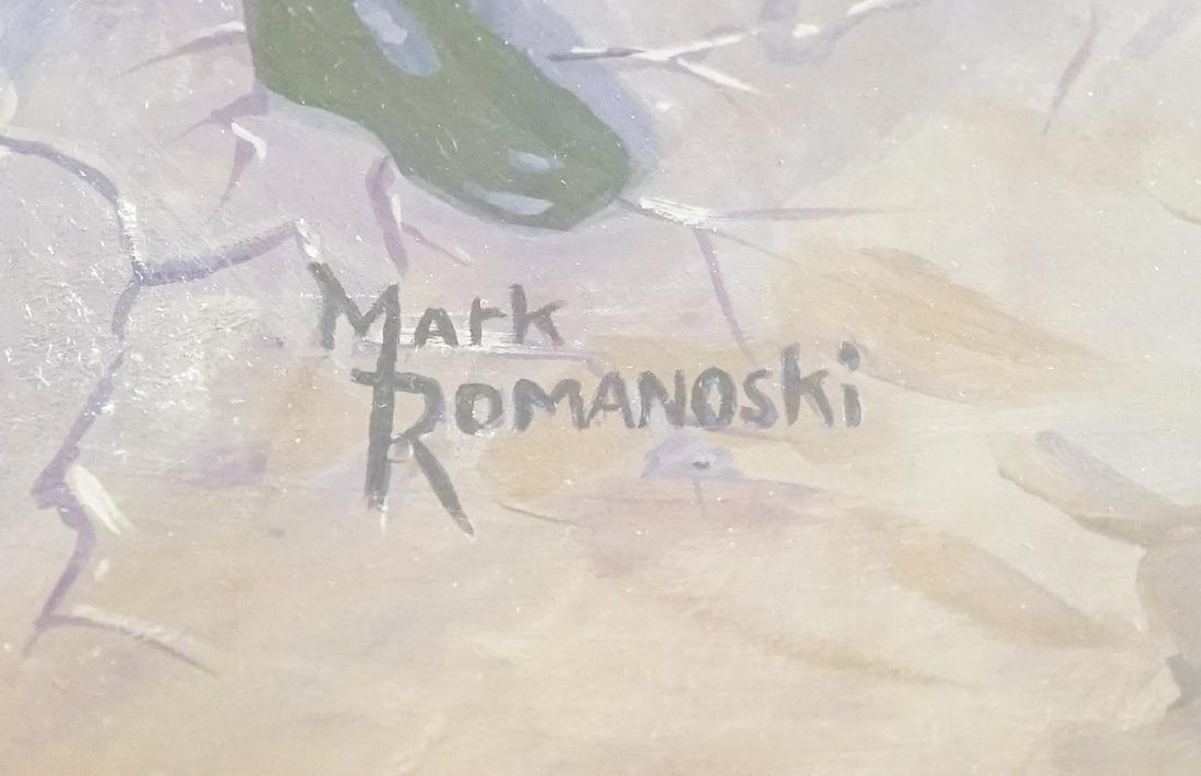 Mark Romanoski Original Artwork WWF Wrestlers - 3