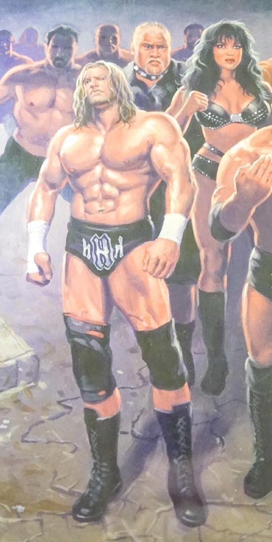 Mark Romanoski Original Artwork WWF Wrestlers - 4