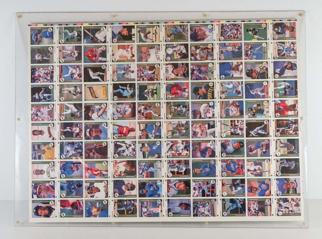 1989 Upper Deck Full Uncut Sheet