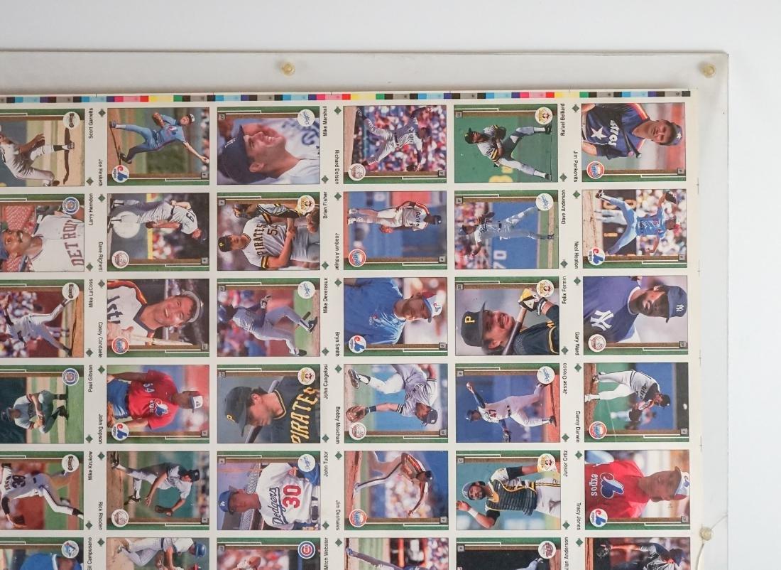 1989 Upper Deck Full Uncut Sheet - 3