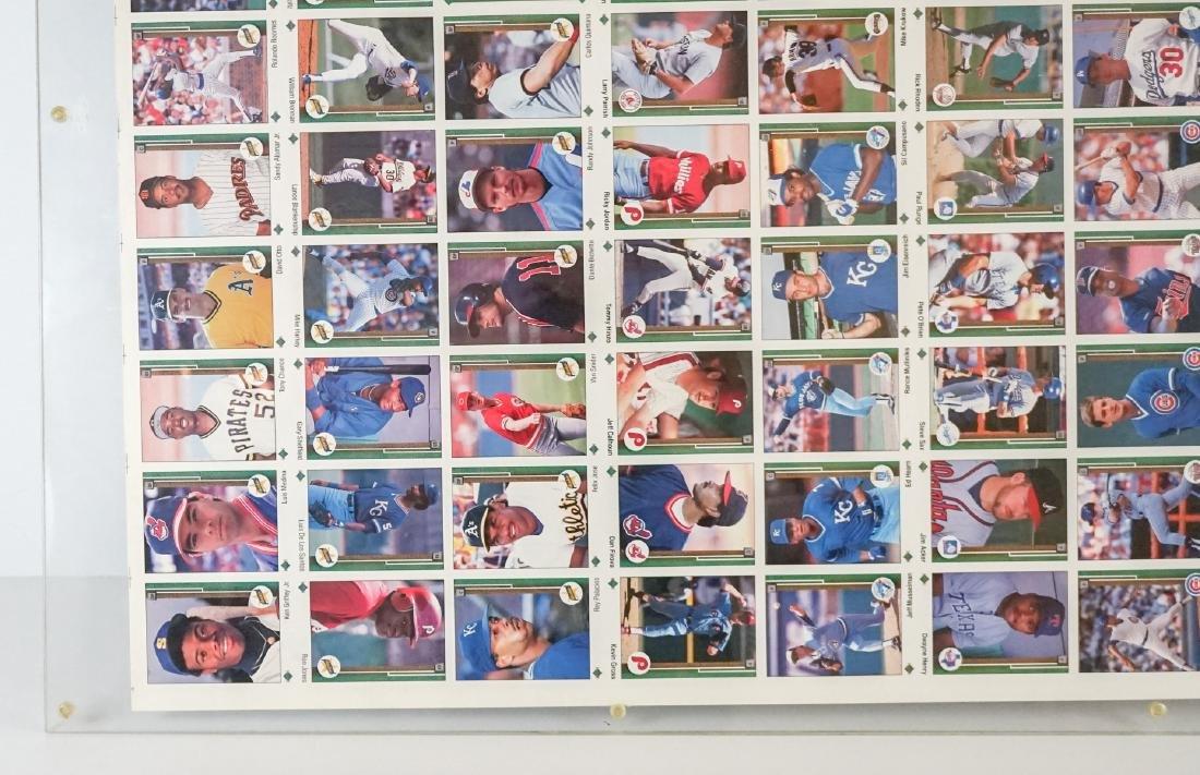 1989 Upper Deck Full Uncut Sheet - 5