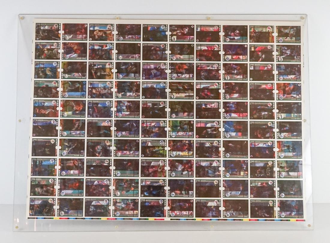 1989 Upper Deck Full Uncut Sheet - 7