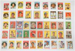 48 1950searly 1970s Topps Baseball Cards