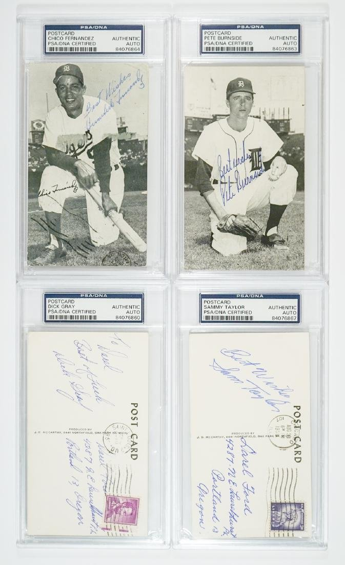 McCarthy Autographed Baseball Postcards PSA/DNA