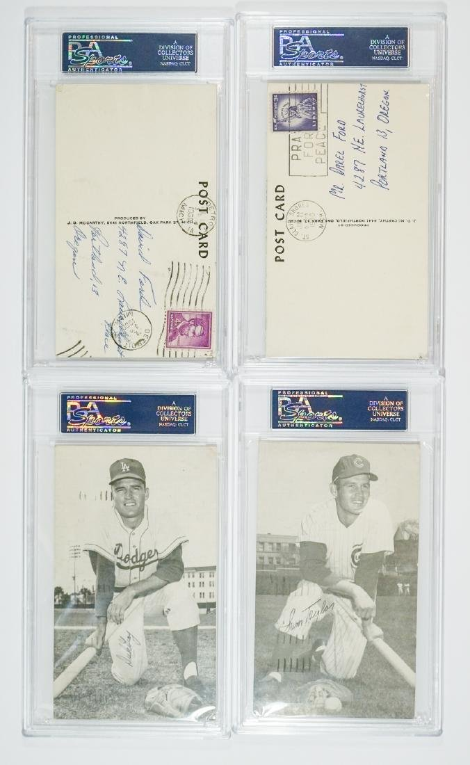 McCarthy Autographed Baseball Postcards PSA/DNA - 2