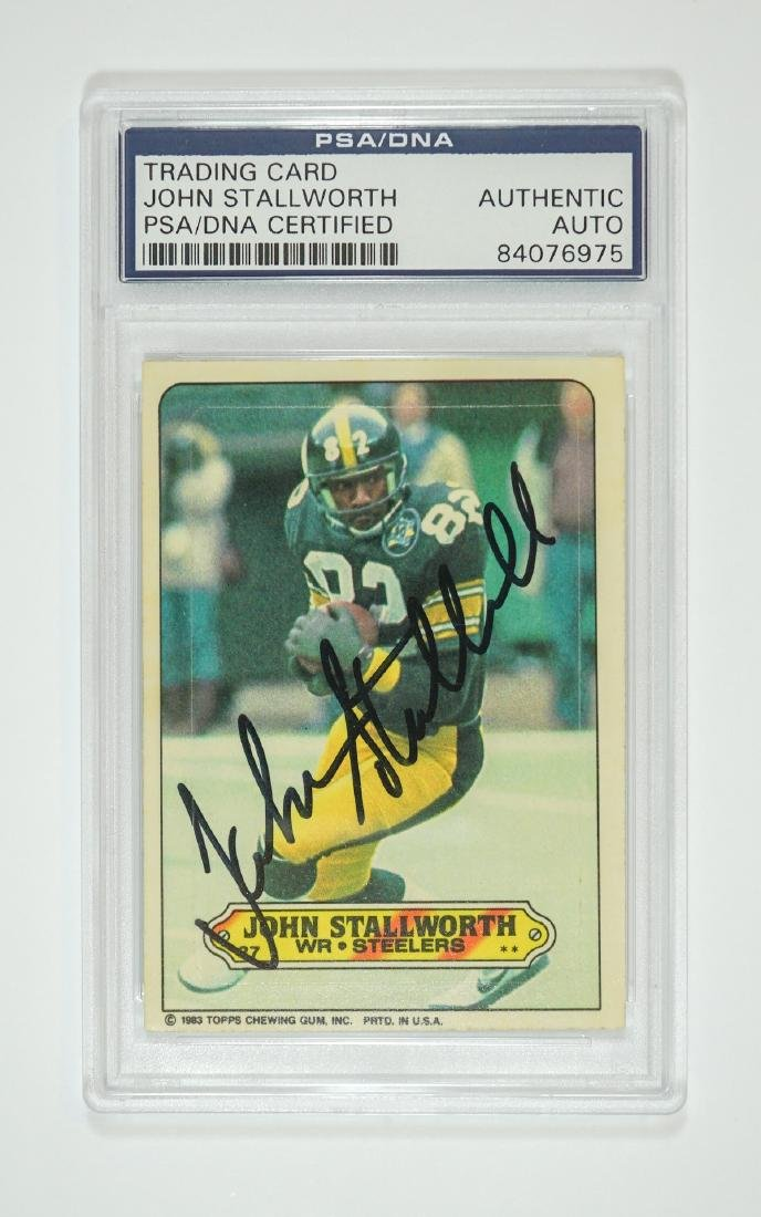 John Stallworth Autographed Football Card