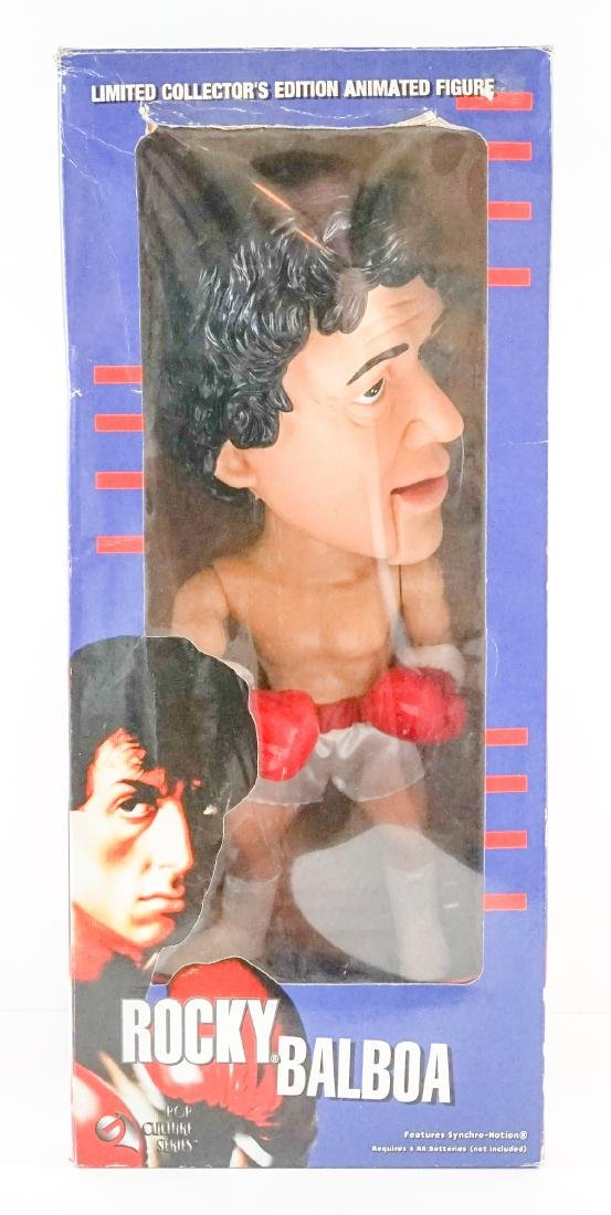 Rocky Balboa Limited Edition Animated Figure MIB