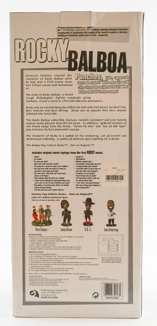 Rocky Balboa Limited Edition Animated Figure MIB - 3