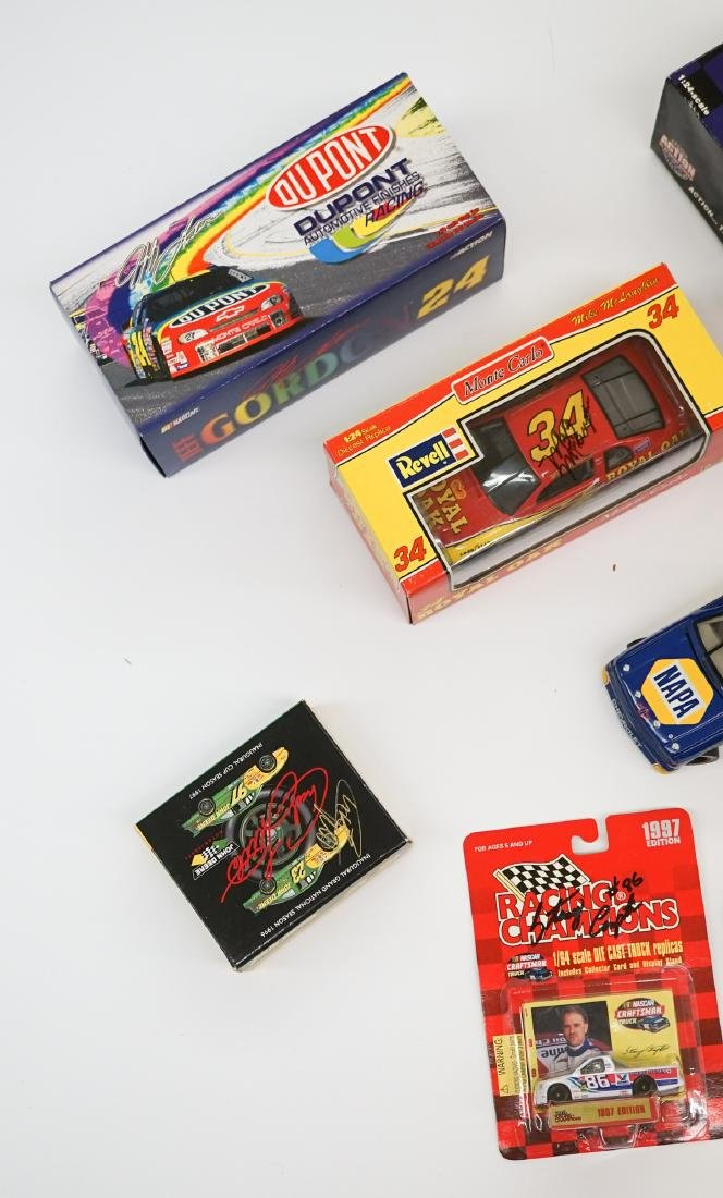 Ten Auto Racing Scale Model Cars, Some Signed - 4