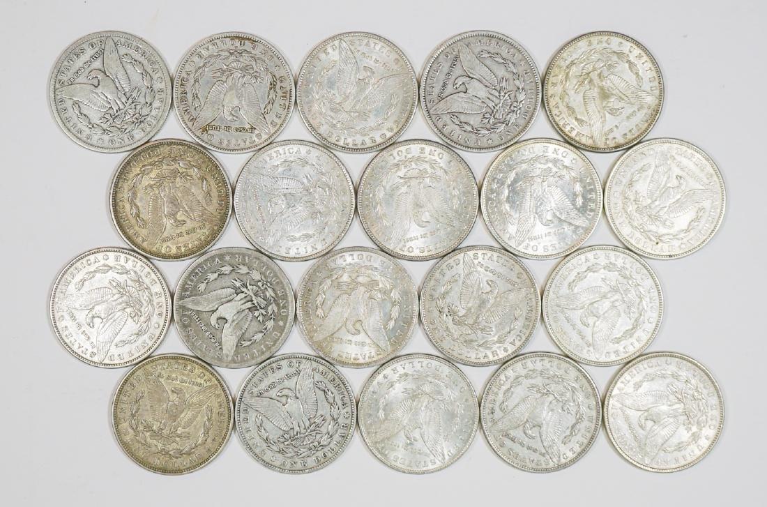 Group of [20] Morgan U.S Silver Dollars 1878-1921 - 2