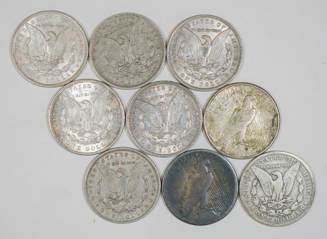 Group of [9] Old U.S. Silver Dollars 1878-1935 - 2