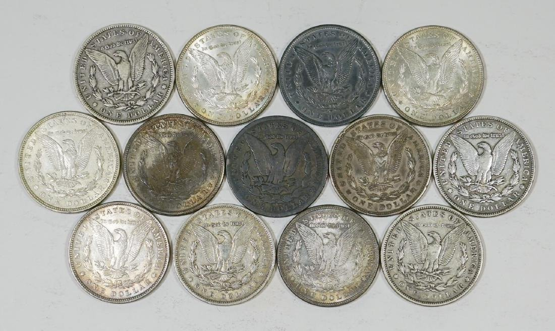 Group of [13] Morgan U.S. Silver Dollars 1878-1935 - 2