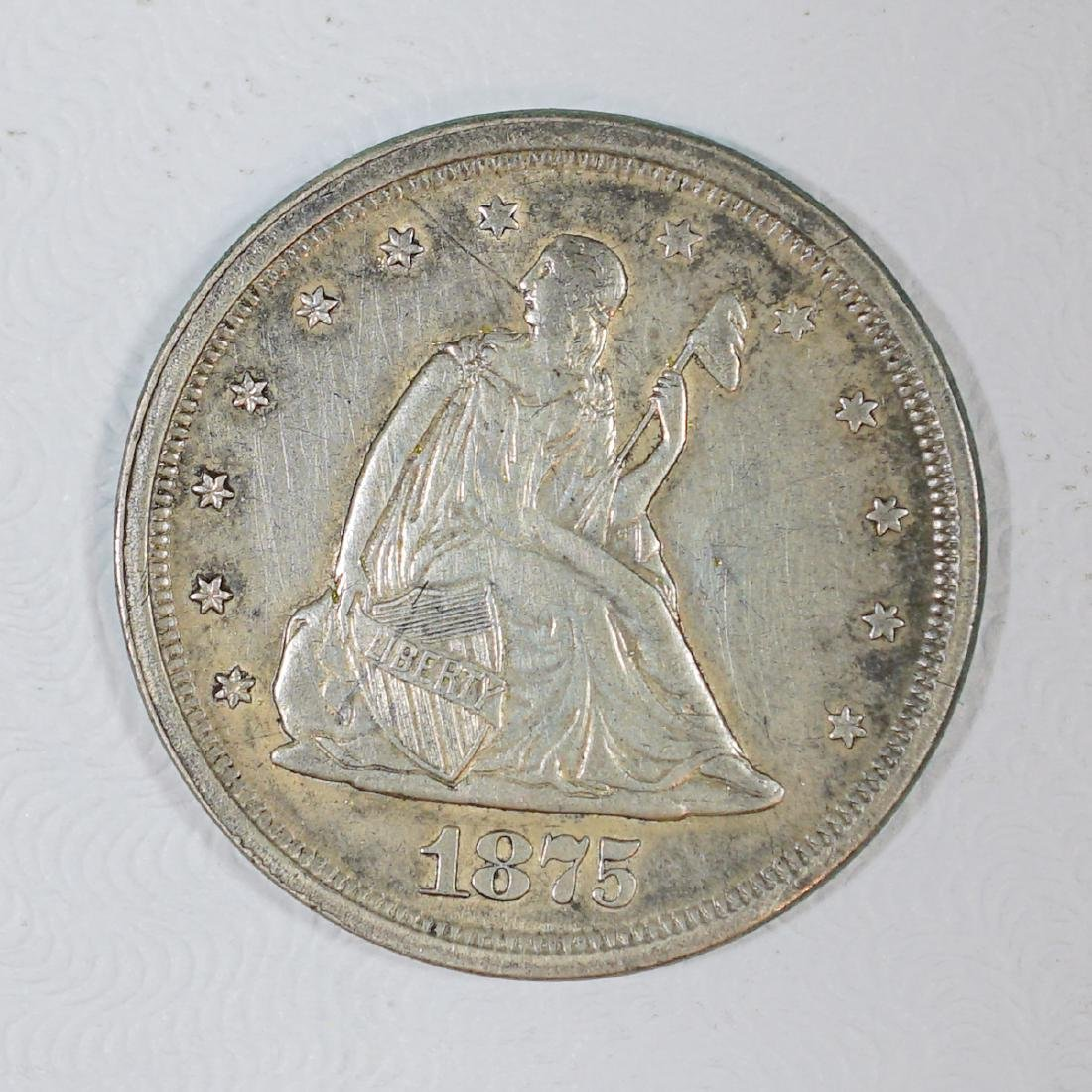 1875-S U.S. Twenty-Cent Piece