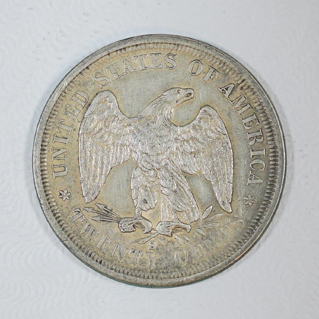 1875-S U.S. Twenty-Cent Piece - 2