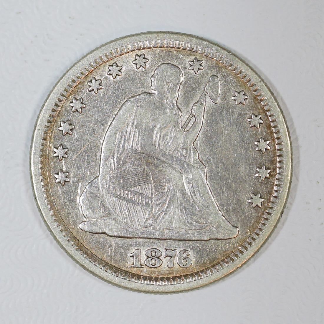 1876-CC U.S. Quarter Dollar
