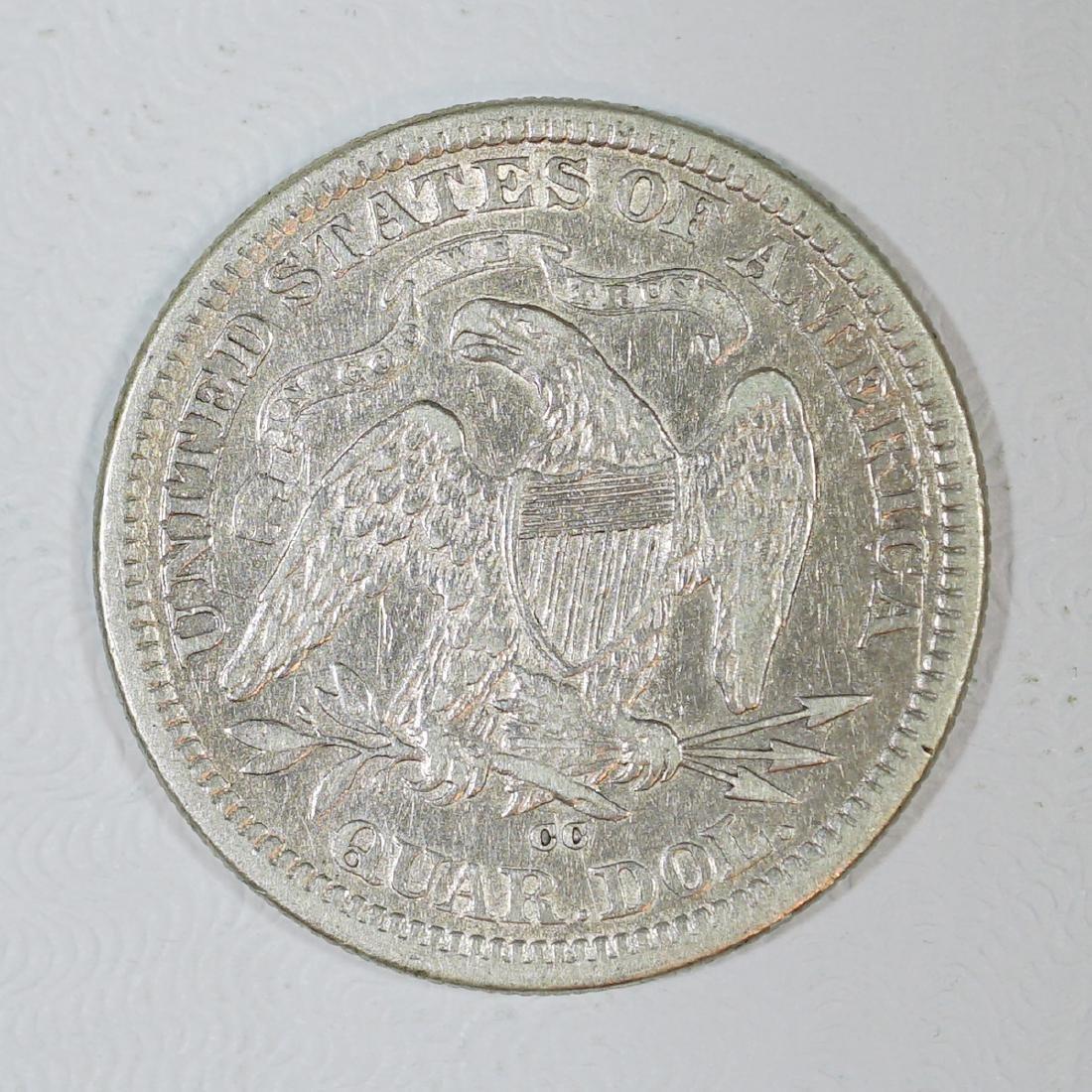 1876-CC U.S. Quarter Dollar - 2
