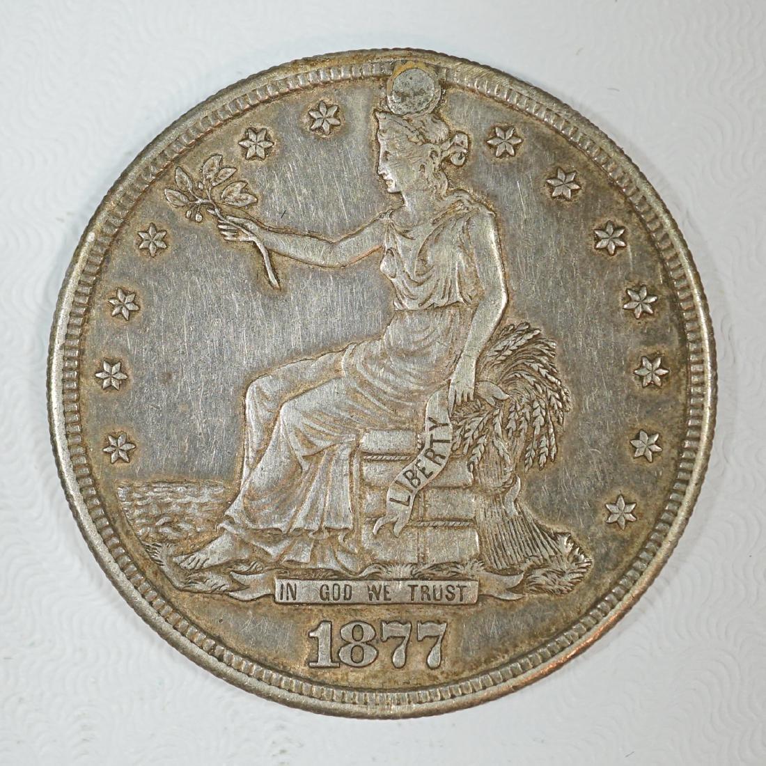 1877-S U.S. Silver Trade Dollar