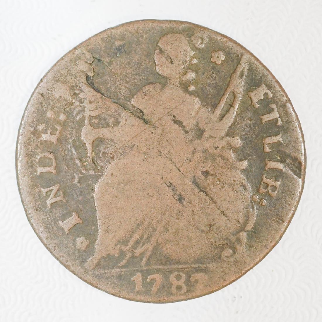 1787 Connecticut 1 Cent