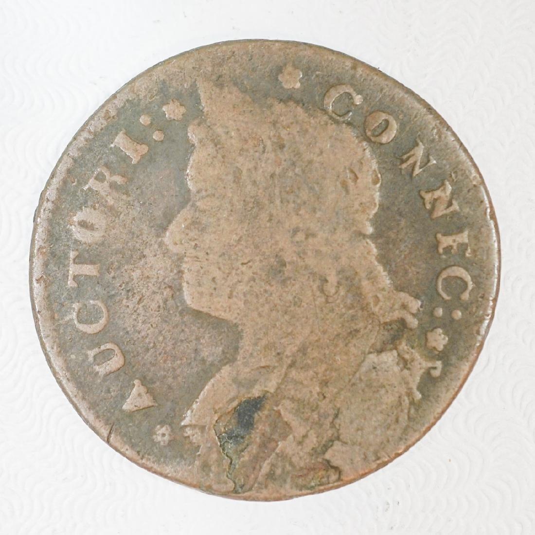 1787 Connecticut 1 Cent - 2