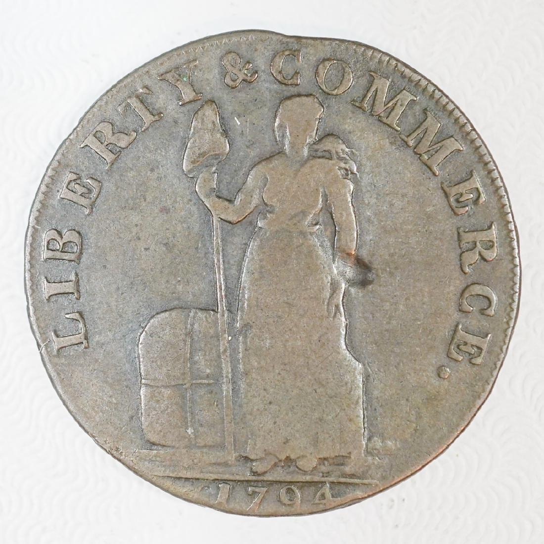 1794 Talbot, Allum & Lee, One Cent, New York